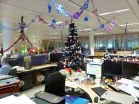 Christmas Decorating Ideas For Office