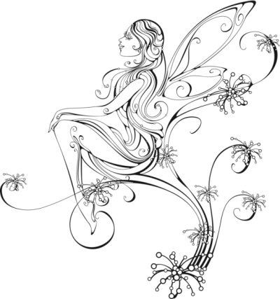 34+ Fairy Tattoos Stencils