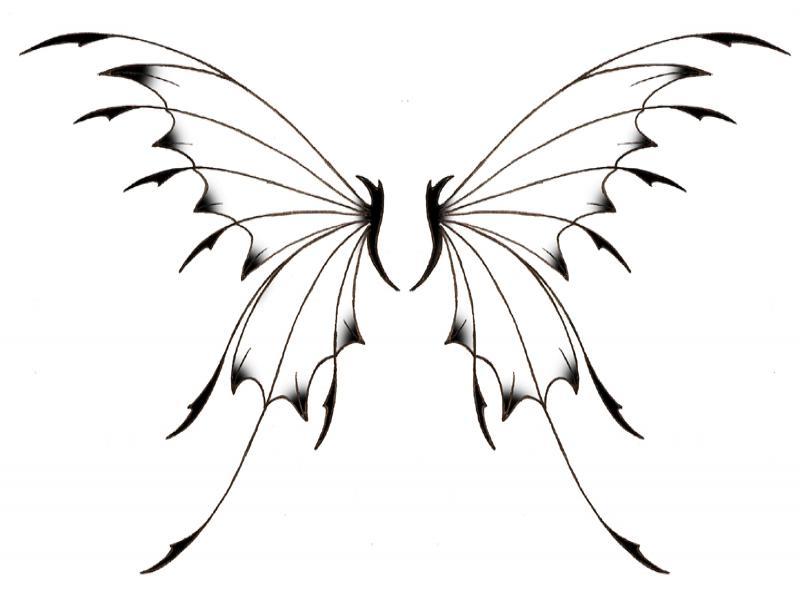 54+ Fairy Wings Tattoos Ideas