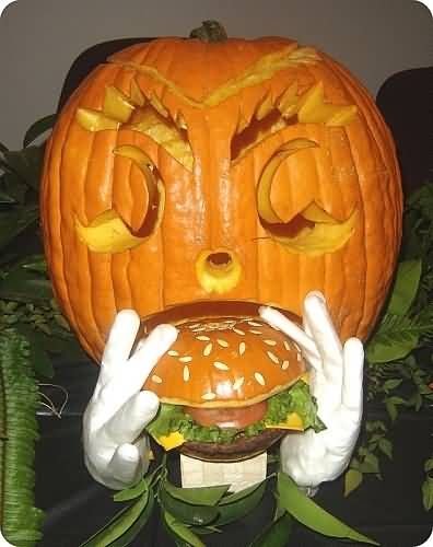 Cute Hamburger Wallpaper 30 Very Funny Pumpkin Images That Will Make You Smile