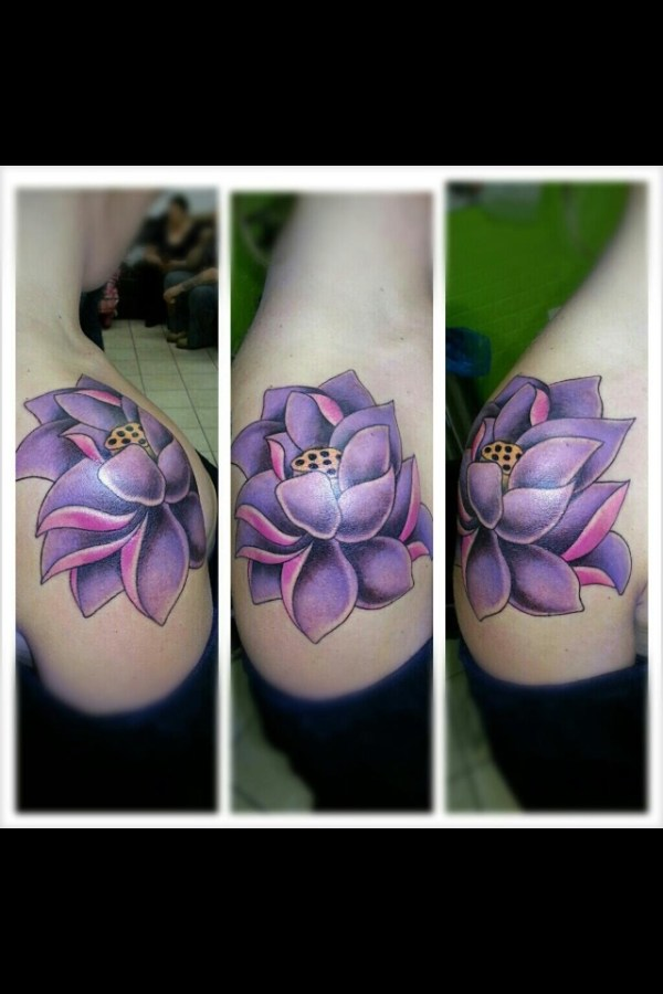 20 Pink And Purple Lotus Tattoos Ideas And Designs