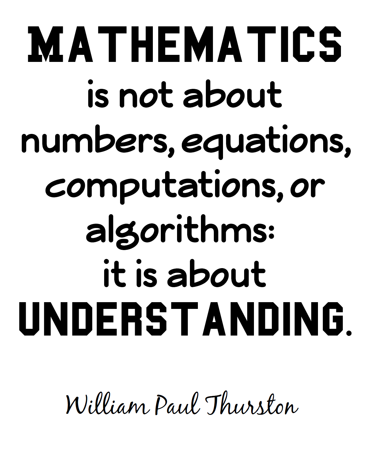 62 Best Mathematics Quotes