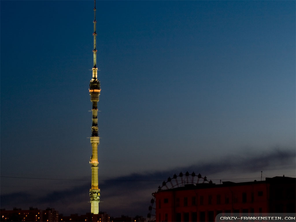 Lit Quotes Wallpaper 25 Incredible Night View Pictures Of Ostankino Tower In Mexico