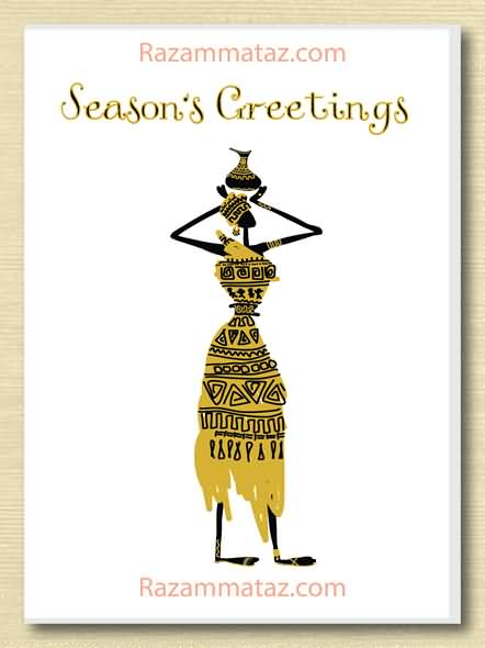 25 Beautiful Seasons Greeting Cards Images