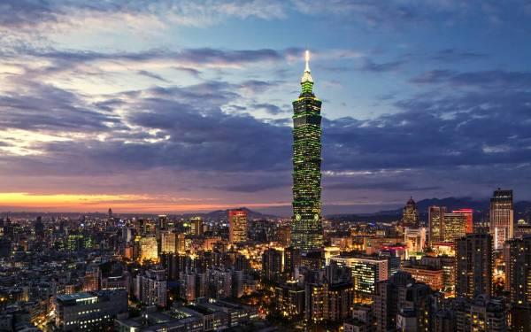 Taipei 101 at Night