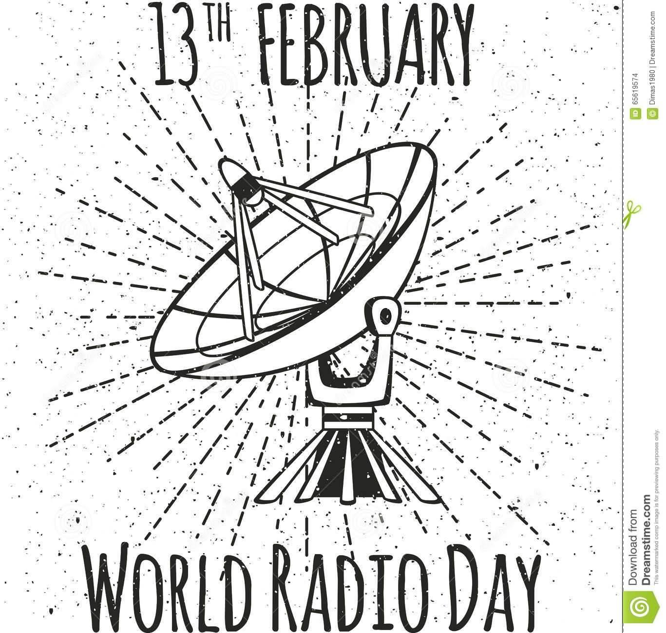 13th February World Radio Day