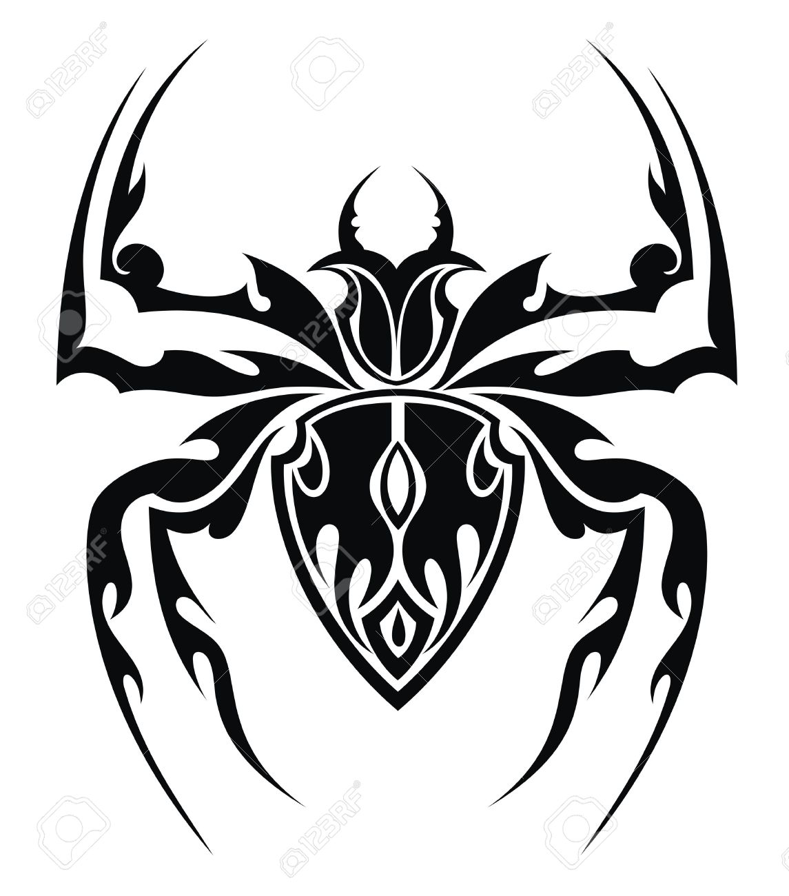 24 Mind Blowing Spider Tattoos Designs