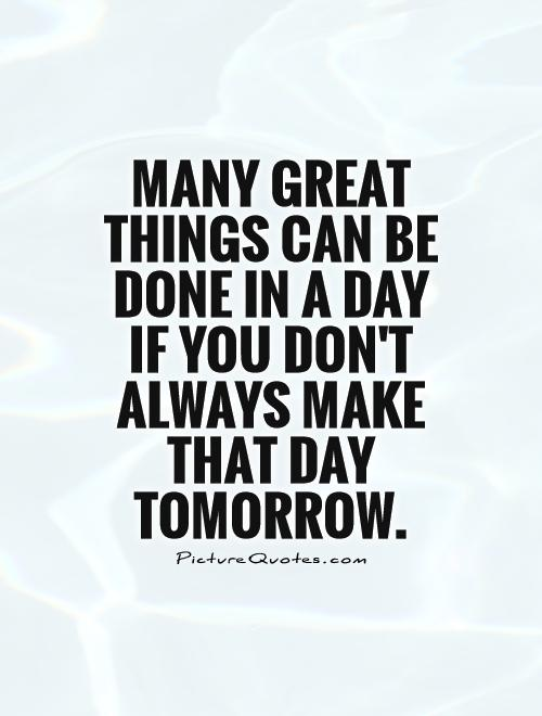 63 Best Procrastination Quotes And Sayings