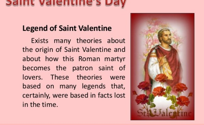 Today Valentine S Day History Who Was St Valentine Feb