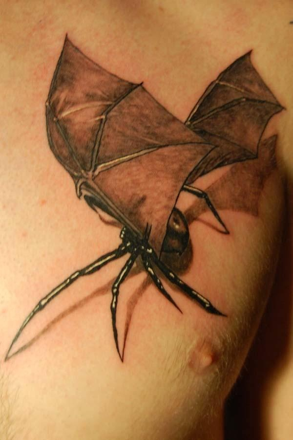 spider with bat wings