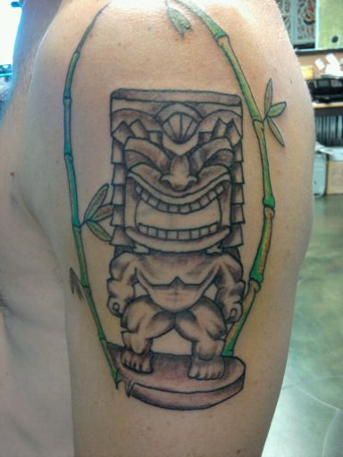 14 Latest Tiki Tattoo Designs And Ideas