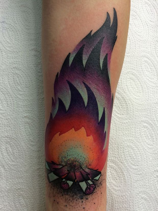 19 Forearm Tree Tattoos