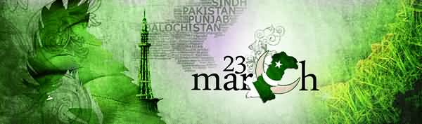 23 March Pakistan Day Facebook Cover Picture