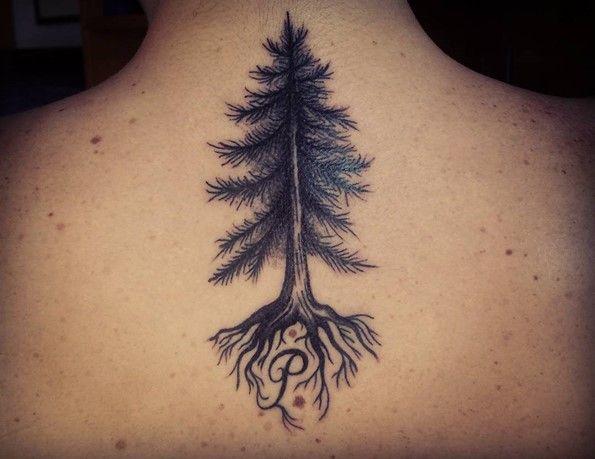 20 Black Tree Tattoos Ideas And Designs