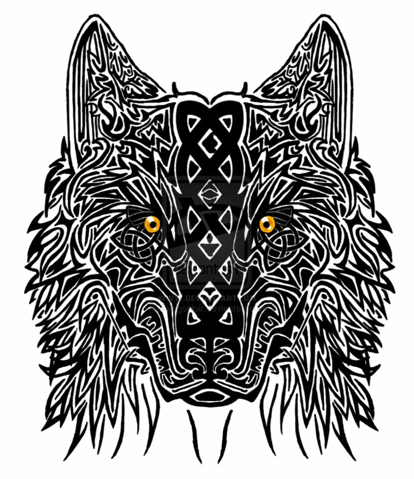 30 Mandala Wolf Tattoos Designs Collection