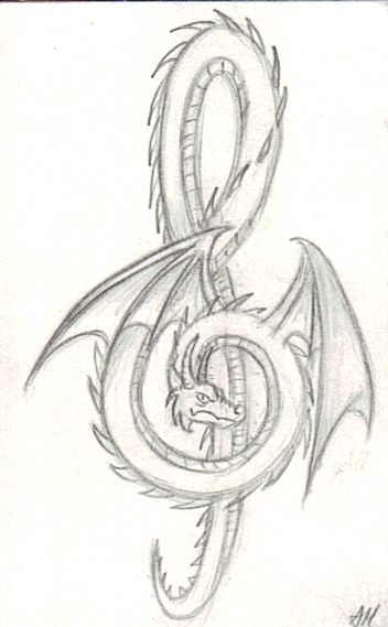 Birds Drawings Tribal Tattoo