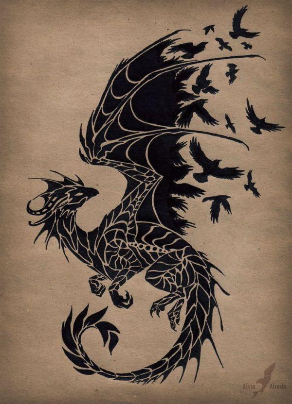 dragon tattoos design