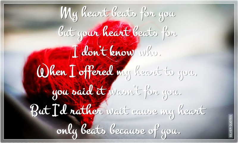 Your My Beat Quotes Heart