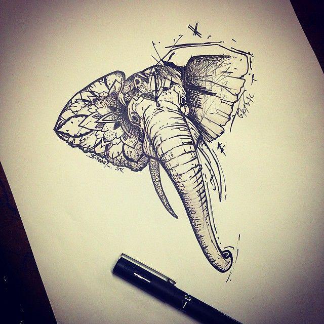 Mandala Tattoo Sleeve Sketch