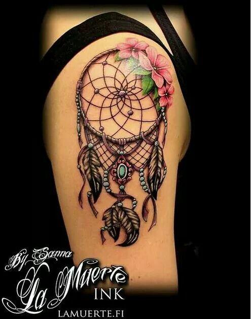 La Muerte Tattoo Design