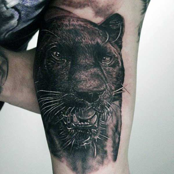 black panther tattoos ideas