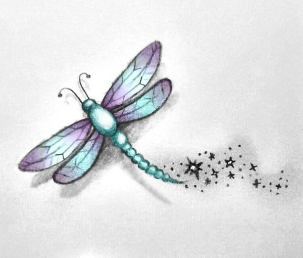 meaningful dragonfly tattoos