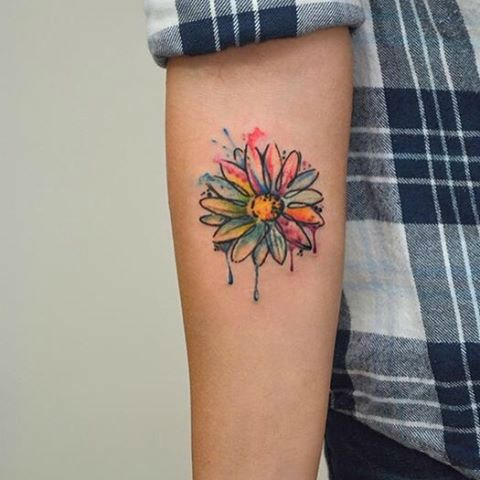 20 Daisy Flower Forearm Tattoos For Women Ideas And Designs