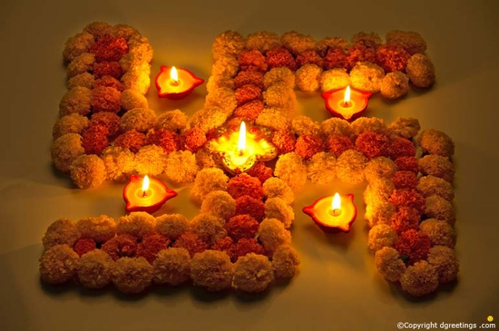 How To Decorate House For Diwali With Flowers