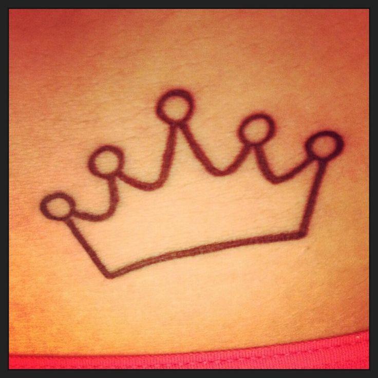 Princess Crown Tatoo