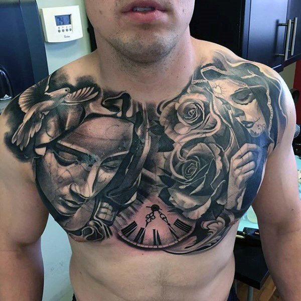 Chest Tattoos For Men Ideas