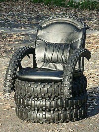 Amazing DIY Chair Using Old Recycled Tires