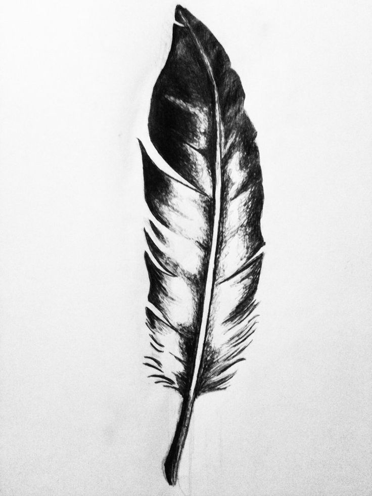 Native American Eagle Feather Tattoo