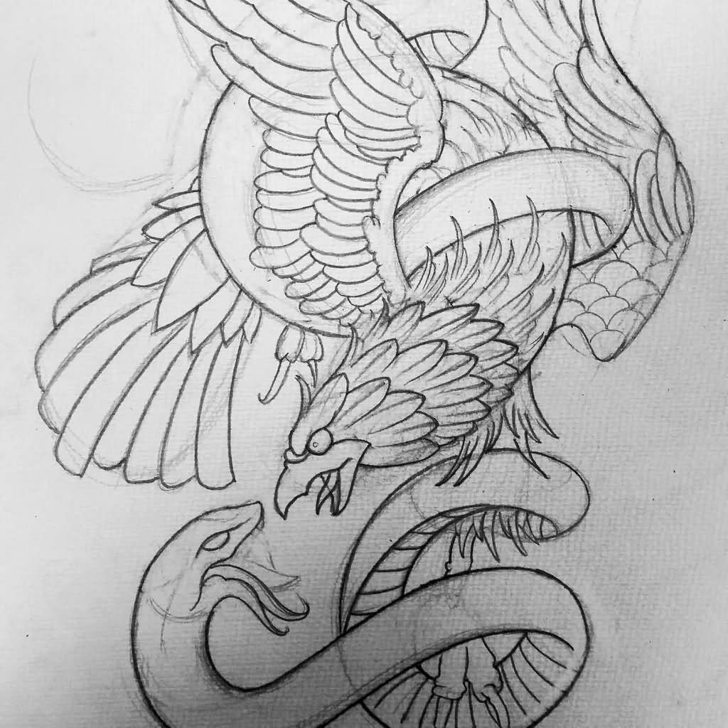 Tattoo Outlines Drawing