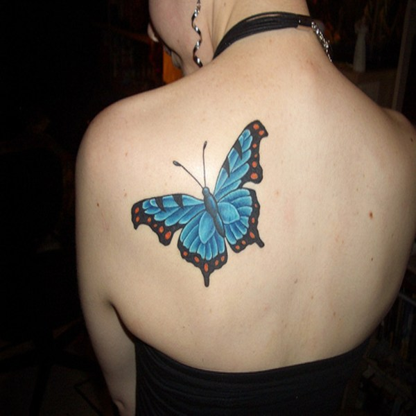 Blue Butterfly Tattoo Meaning Imgurl