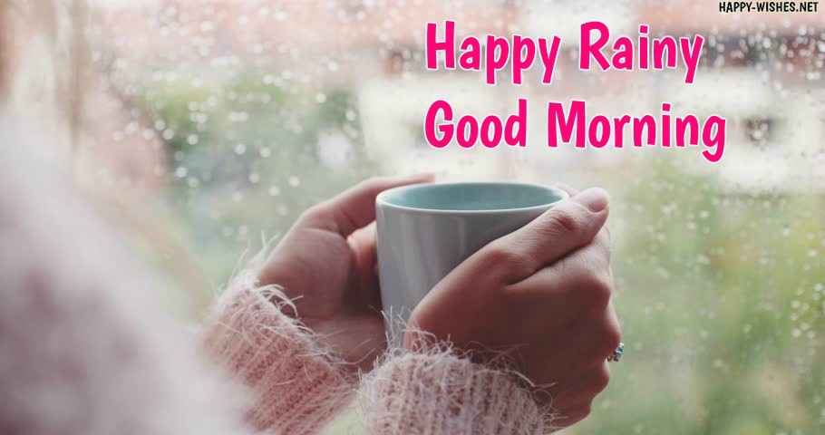 Good Morning Rainy Day Graphics