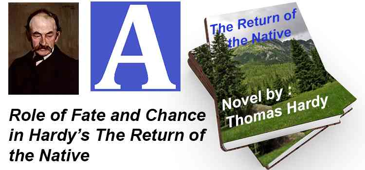 To what extent do you think are Fate and Chance an integral part of the tragedy in Hardy's work The Return of the Native?