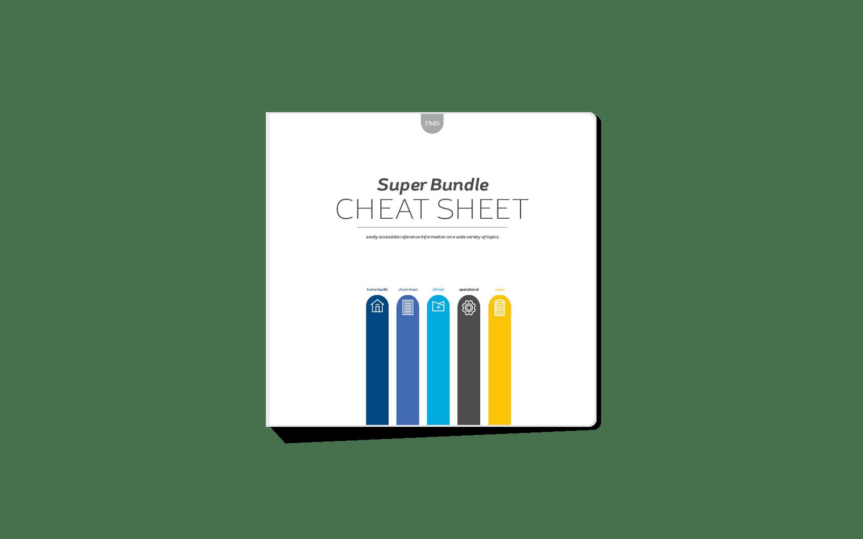 MAC Legacy (formerly FMS) Cheat Sheet Super Bundle