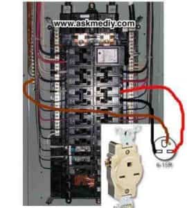 Phase Wiring Color Code How To Install A 220 Volt Outlet Askmediy
