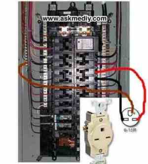 How to install a 220 volt outlet  AskmeDIY