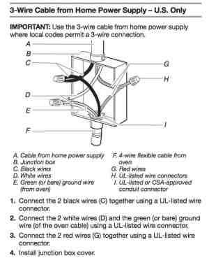 wiring diagram for a stove plug  AskmeDIY
