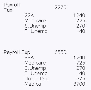 Payroll Expenses?