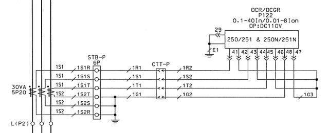 ct shorting block wiring diagram