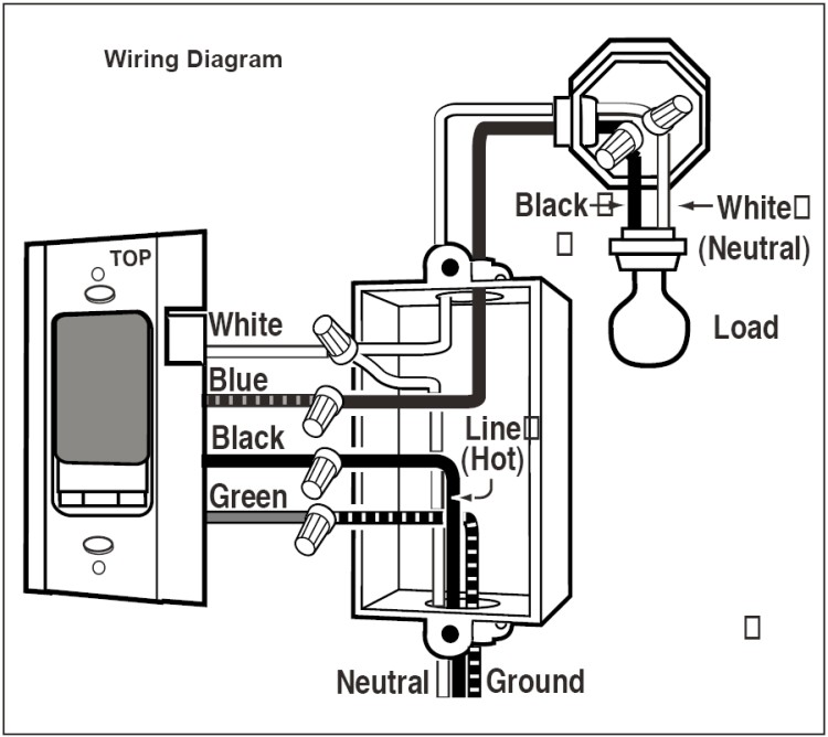 Hubbell Motion Sensor Wiring Diagram, Hubbell, Free Engine