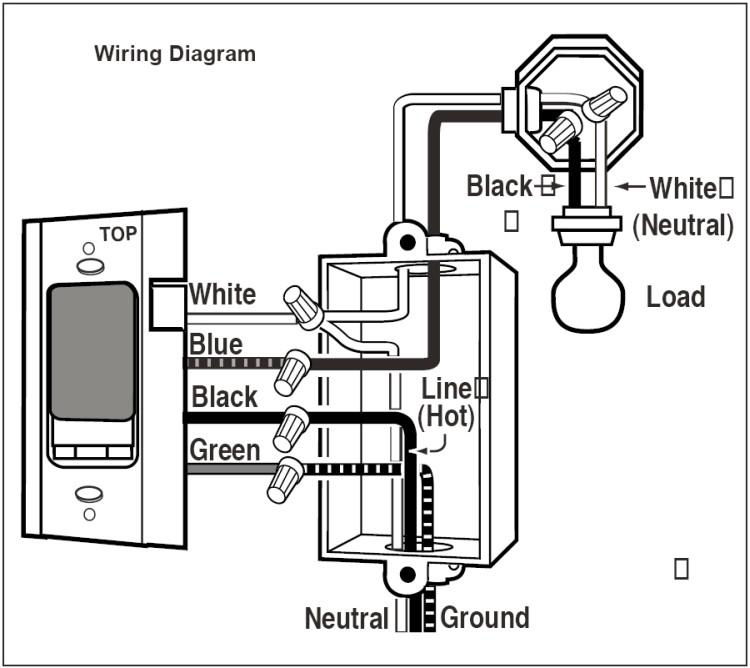 wiring a light switch timer