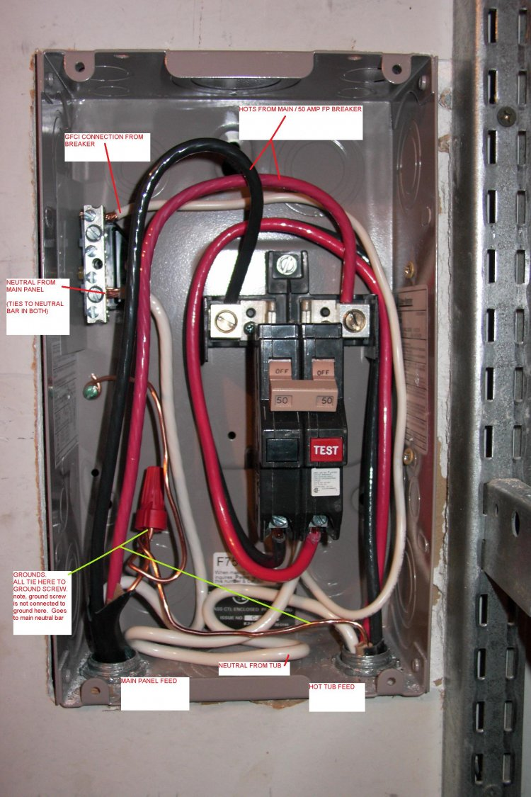 Wiring Diagram 200 Amp Service Panel