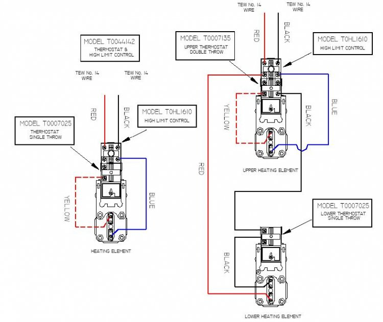 Electric Hot Water Heater Wiring Diagram, Electric, Free
