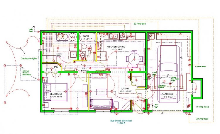 Wiring Diagram For Garage Sub Panel On Wiring Images Free