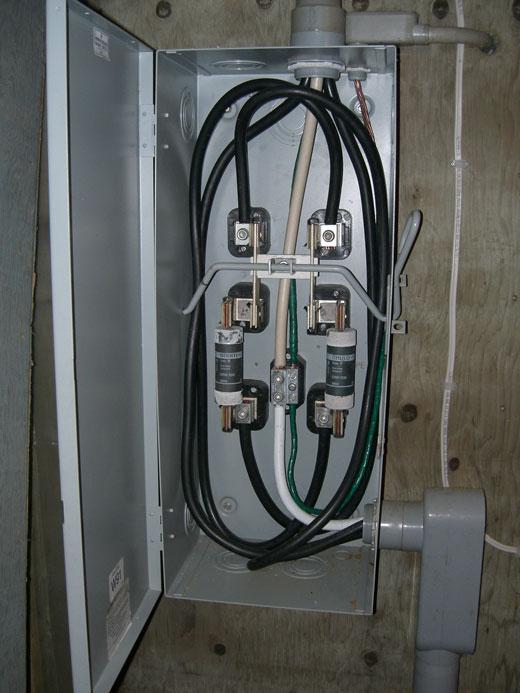 Wiring Detached Subpanel