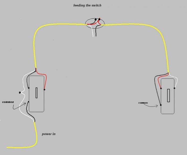 Wiring Diagram For Four Way Switch Four Way Switch