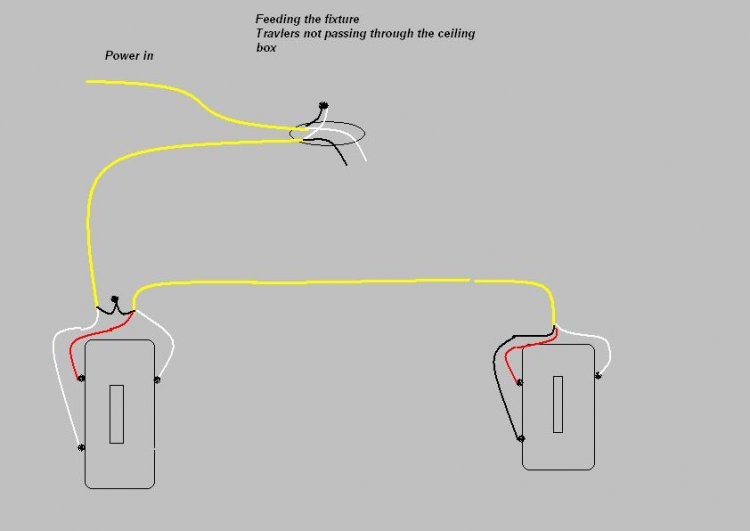 two way light switch wiring diagram fig 1 two way light switching
